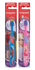 Colgate<sup>®</sup> Kid's 5+yrs Spiderman/Barbie