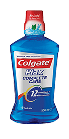 Colgate<sup>®</sup> Plax<sup>®</sup> Complete Care