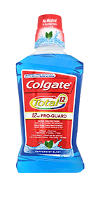 Colgate<sup>®</sup> Total Mouthwash Peppermint Blast
