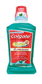 Colgate<sup>®</sup> Total Mouthwash Spearmint Burst