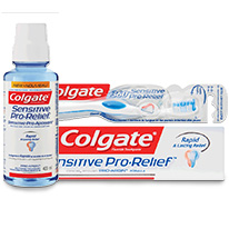<span class='gray'>COLGATE<sup>®</sup> SENSITIVE PRO-RELIEF<sup>®</sup></span>