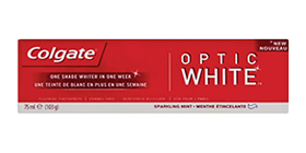 Colgate<sup>®</sup> Optic White<sup>®</sup> Sparkling White