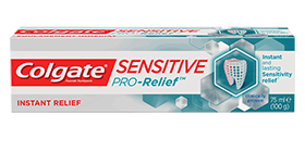 Colgate<sup>®</sup> Sensitive Pro-Relief<sup>®</sup> Instant Relief