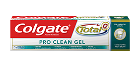 Colgate<sup>®</sup> Total<sup>®</sup> Pro<sup>®</sup> Clean Gel