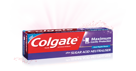 Colgate Maximum Cavity Protection with Sugar Acid Neutralizer™ Toothpaste
